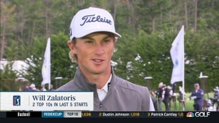 Zalatoris hopes distance-measuring devices speed up the game