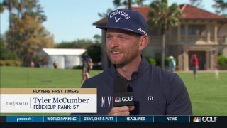 McCumber has talked PLAYERS strategy with dad