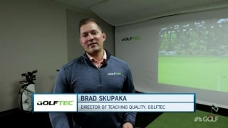 Skupaka explains technology on GolfTEC's new putter
