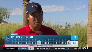 Byeong Hun An happy with performance after Round 1