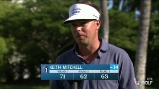 Keith Mitchell's putting leading to success at Sony Open