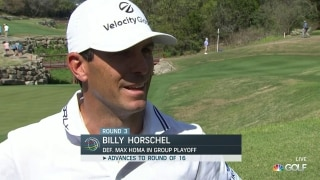 Horschel grinds out win at WGC-Dell Match Play