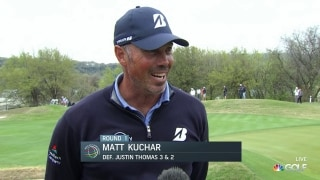 Kuchar feeling like 'old self' at Dell Match Play