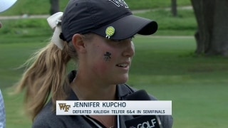 Kupcho defeats Telfer, 6 and 4, in semifinal