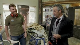 Feherty learns about the ancient Irish game of Hurling