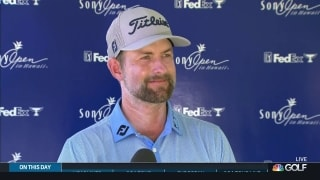 Simpson's patience paying off at Sony Open