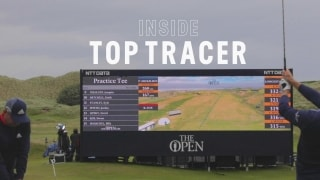 Inside the technology behind Top Tracer shots at The Open