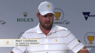 Leishman: 'Excited' to be playing in a Presidents Cup on home soil