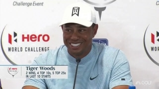 Tiger on the evolution of the swing and bringing athletes to the game