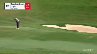 Bezuidenhout drops in long birdie on 12th hole