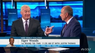Why Isenhour expects good play from Tiger at Hero World Challenge