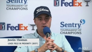 Thomas: 'Really irritates me' when TV doesn't factor wind into putts
