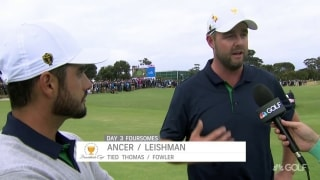 Ancer-Leishman stun Fowler-Thomas to tie match