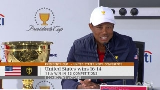 Tiger: 'Trust in each other, that's what ultimately won us the cup'