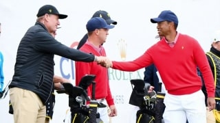 Tiger wins 25th Prez Cup match, now one back of Phil