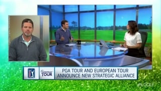 Impact of new PGA Tour-Euro Tour partnership
