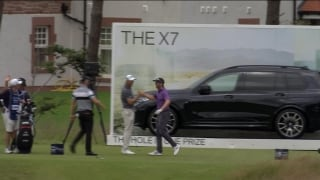 Watch: Dredge wins BMW with hole-in-one at Scottish Open
