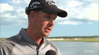 'Delighted to come out on top': Stenson recaps Hero win