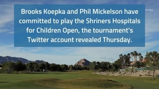 Golf Central Update: Koepka, Mickelson commit to Shriners