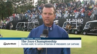 Players at Zozo look to grab attention of Presidents Cup captains