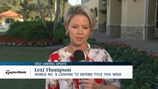 Thompson looking to repeat at CME Group Tour Championship