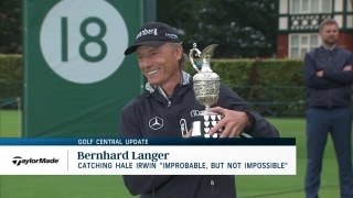 Golf Central Update: Langer catching Irwin 'Improbable, but not impossible'