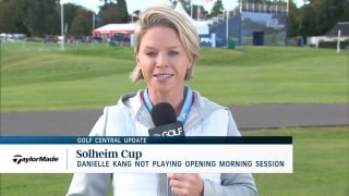 Golf Central Update: Kang not in opening Solheim pairings