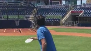 Grill Room: Bubba builds a disc golf course at his baseball stadium