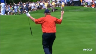 That time Jack drained a 102-foot putt to toast Johnny