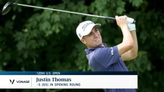 Instant Analysis: Thomas takes early U.S. Open lead with 5-under 65