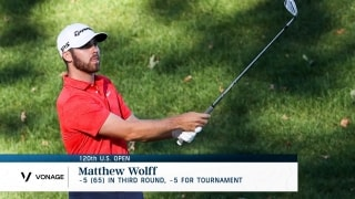Instant Analysis: Wolff sails into U.S. Open lead with -5 (65) third round