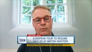 Pelley: Euro Tour strategy is to cluster events, mitigate risk