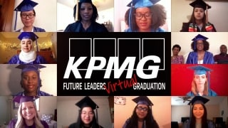 KPMG Future Leaders celebrate virtual graduation