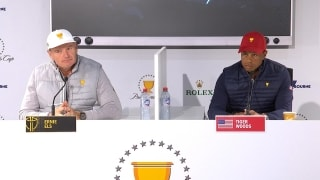 Full Presidents Cup Captains presser