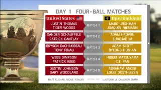 Watch: Presidents Cup captains announce Day 1 matches