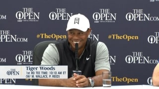 Koepka's Portrush advice for Tiger: *Crickets*
