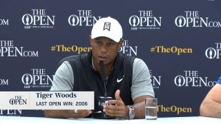 Tiger on schedule: 'If I play a lot, I won't be out here that long'