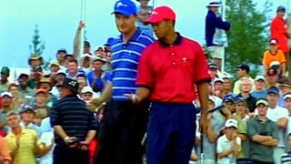 Lerner takes a look back at the Woods-Els Presidents Cup rivalry