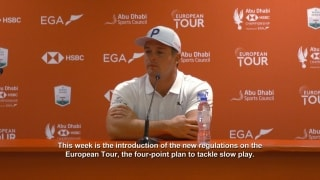 DeChambeau responds to new slow play policy