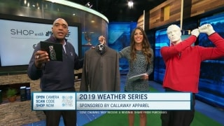 Shop with GOLF: Callaway Weather Series golf apparel