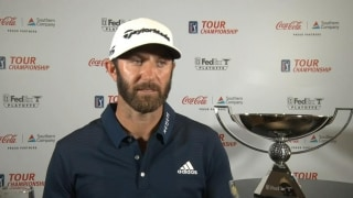 Champion Chats: DJ admits to nervousness at Tour Championship