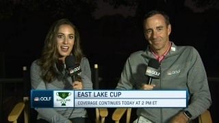 Setting the stage for match play at East Lake Cup