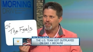 Fill in the Blank: U.S. got outplayed on Day 1 because...