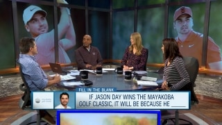 Fill in the Blank: If Day wins Mayakoba, it will be because...