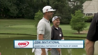 Tour players attend CDW Invitational to benefit Folds of Honor