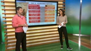 Foursome predictions: Who will win on Day 2?