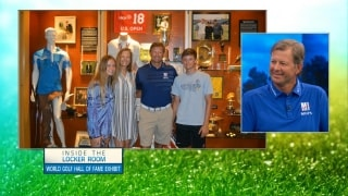 Inside the Locker Room: Goosen visits his Hall of Fame exhibit