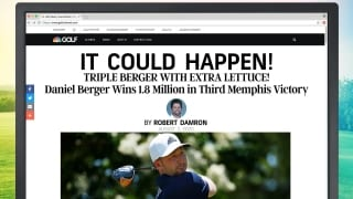 It Could Happen headlines: Berger three-peat in Memphis?