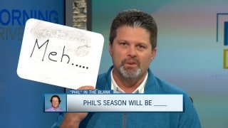 Phil in the blank: Predicting Mickelson's season
