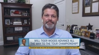 Will Tiger advance to the Tour Championship?